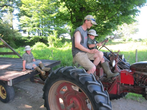 Learning to drive the Farmall