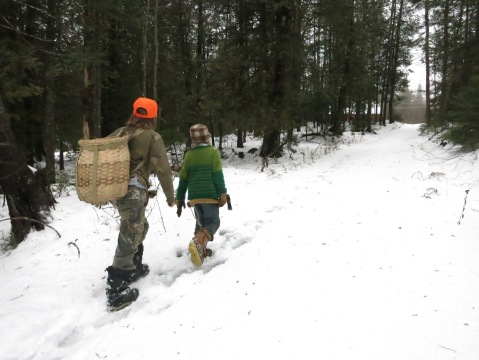 Junior woodsmen