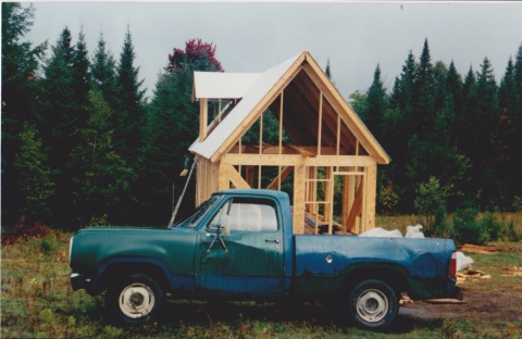 We bought this truck for $200 and hauled pretty much every piece of our house in it. I even shaved for our wedding in one of its side view mirrors
