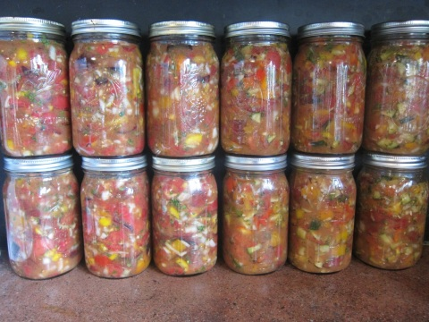 Lacto-fermented salsa. A standby