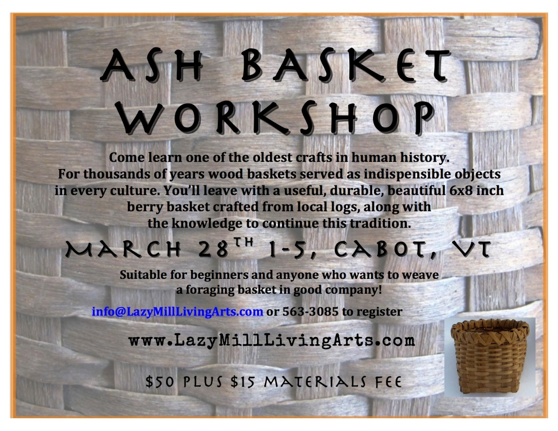 ASH BASKET WORKSHOp